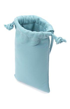 Женская сумка pillow MANSUR GAVRIEL голубого цвета, арт. WP20H004KQ | Фото 4