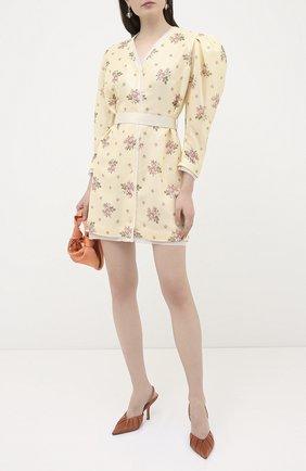 Женское платье с пайетками ULYANA SERGEENKO желтого цвета, арт. ABC009SS20P (0461т20) | Фото 2