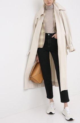 Женские джинсы BRUNELLO CUCINELLI черного цвета, арт. MPH43P5574 | Фото 2