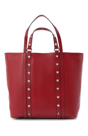 Женская сумка-шопер REDVALENTINO красного цвета, арт. UQ2B0C14/IBL | Фото 1