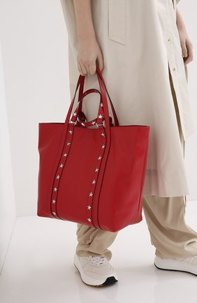 Женская сумка-шопер REDVALENTINO красного цвета, арт. UQ2B0C14/IBL | Фото 2