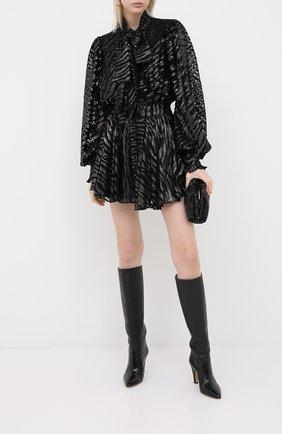 Женское платье BALMAIN черного цвета, арт. UF16336/X421 | Фото 2