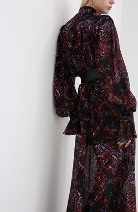 Женское шелковое платье BALMAIN разноцветного цвета, арт. UF16891/I518   Фото 4
