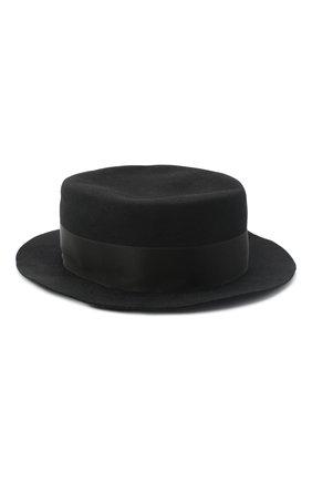 Женская фетровая шляпа GIORGIO ARMANI черного цвета, арт. 797403/0A522 | Фото 2