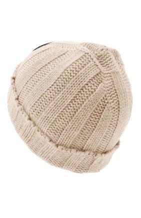 Женский кашемировая шапка GIORGIO ARMANI серого цвета, арт. 797377/0A530 | Фото 2