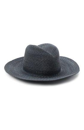 Женская соломенная шляпа GIORGIO ARMANI темно-синего цвета, арт. 797025/0A932 | Фото 2