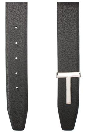 Женский кожаный ремень TOM FORD черного цвета, арт. WB206P-LCL084 | Фото 2