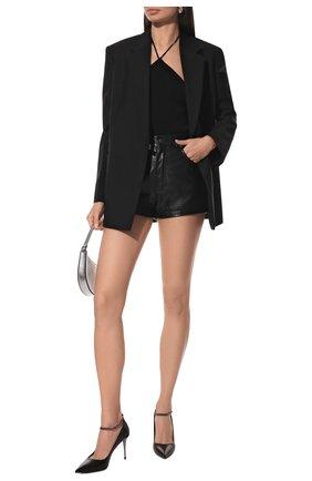 Женская кожаные туфли TOM FORD черного цвета, арт. W2560R-LKD002 | Фото 2