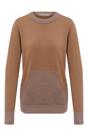 Женский пуловер D.EXTERIOR бежевого цвета, арт. 51096   Фото 1