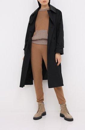 Женский пуловер D.EXTERIOR бежевого цвета, арт. 51096   Фото 2