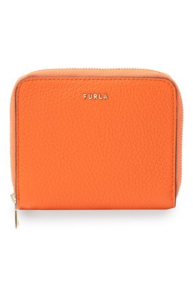 Женские кожаное портмоне FURLA оранжевого цвета, арт. PCY1UNO/HSF000   Фото 1