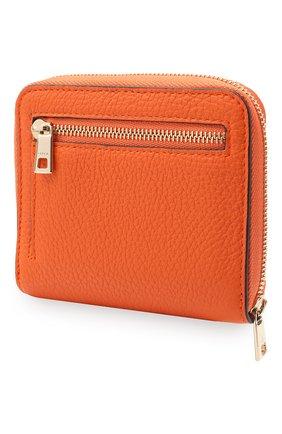 Женские кожаное портмоне FURLA оранжевого цвета, арт. PCY1UNO/HSF000   Фото 2