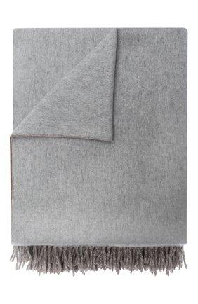 Мужского кашемировый плед BRUNELLO CUCINELLI серого цвета, арт. MPLA98152 | Фото 1