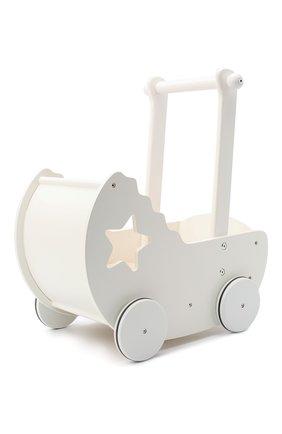 Детского коляска для кукол KID`S CONCEPT белого цвета, арт. 412605   Фото 1