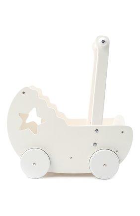 Детского коляска для кукол KID`S CONCEPT белого цвета, арт. 412605   Фото 2