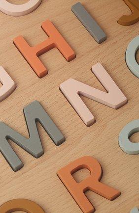 Детского пазл алфавит KID`S CONCEPT бежевого цвета, арт. 1000164 | Фото 2