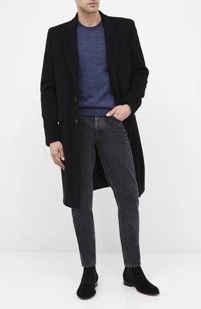 Мужские замшевые челси BOSS черного цвета, арт. 50429397 | Фото 2