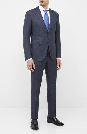 Мужские кожаные оксфорды BOSS черного цвета, арт. 50429366 | Фото 2