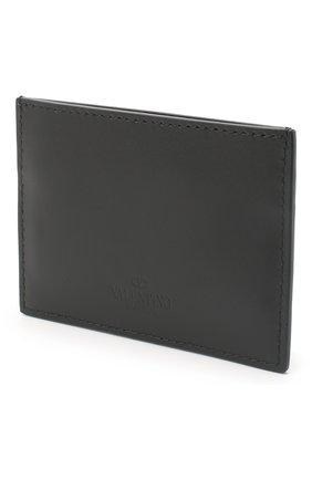 Мужской кожаный футляр для кредитных карт valentino garavani VALENTINO черного цвета, арт. UY2P0448/VNA | Фото 2