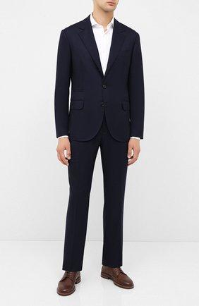 Мужской шерстяной костюм BRUNELLO CUCINELLI синего цвета, арт. ME2267BT7A | Фото 1