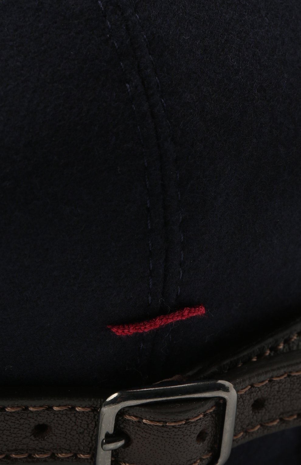 Мужская шерстяное кепи BRUNELLO CUCINELLI темно-синего цвета, арт. M038P9958 | Фото 3