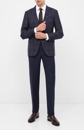 Мужские кожаные оксфорды W.GIBBS темно-коричневого цвета, арт. 8378003/0221 | Фото 2