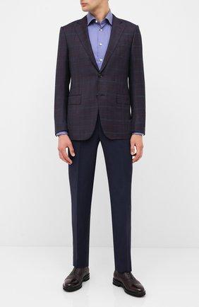 Мужские кожаные оксфорды H`D`S`N BARACCO бордового цвета, арт. 80318B.L.0* | Фото 2