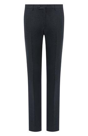 Мужской шерстяные брюки LORO PIANA темно-синего цвета, арт. FAL3004 | Фото 1