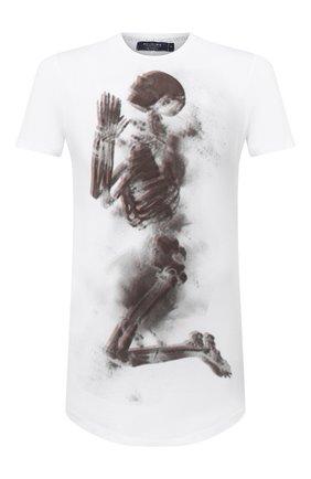Мужская хлопковая футболка RELIGION белого цвета, арт. 10BHNF30 | Фото 1