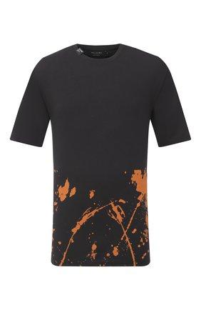 Мужская хлопковая футболка RELIGION черного цвета, арт. 10BBAG47 | Фото 1