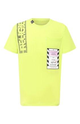 Мужская хлопковая футболка RELIGION зеленого цвета, арт. 10BACG95 | Фото 1