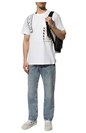 Мужская хлопковая футболка RELIGION белого цвета, арт. 10BACG95 | Фото 2