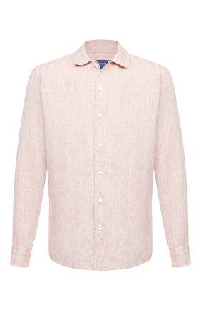 Мужская льняная рубашка ETON светло-коричневого цвета, арт. 1000 01340 | Фото 1