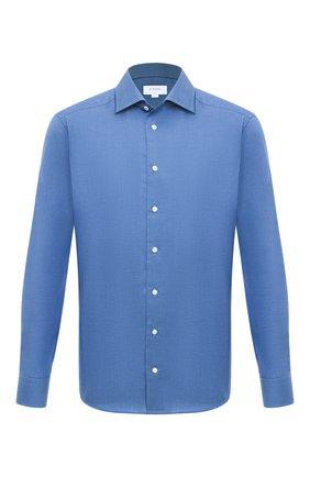 Мужская хлопковая сорочка ETON синего цвета, арт. 1000 01408 | Фото 1