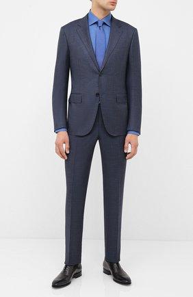Мужская хлопковая сорочка ETON синего цвета, арт. 1000 01408 | Фото 2
