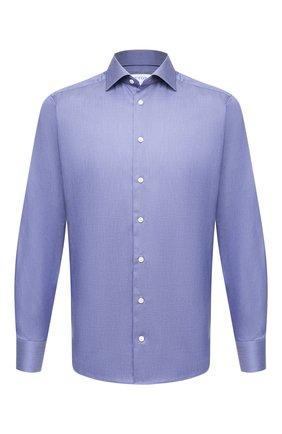 Мужская хлопковая сорочка ETON синего цвета, арт. 1000 01472 | Фото 1