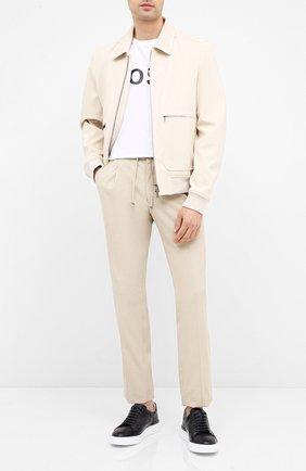 Мужская футболка BOSS белого цвета, арт. 50430889 | Фото 2
