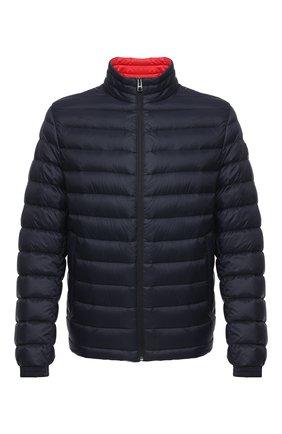 Мужская пуховая куртка BOSS темно-синего цвета, арт. 50427292 | Фото 1