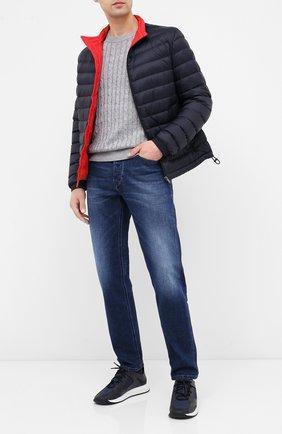 Мужская пуховая куртка BOSS темно-синего цвета, арт. 50427292 | Фото 2