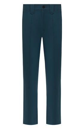 Мужской брюки CROW'S EYE зеленого цвета, арт. LE 56 | Фото 1