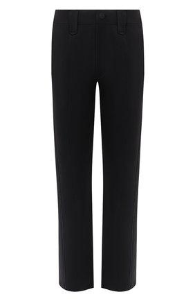 Мужской брюки CROW'S EYE черного цвета, арт. LE 56 | Фото 1