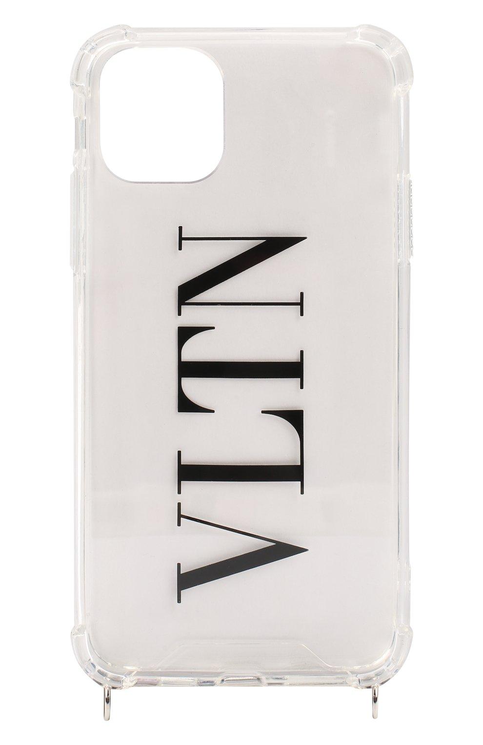 Чехол valentino garavani для iphone 11 pro max VALENTINO прозрачного цвета, арт. UY2P0R72/EHL   Фото 1