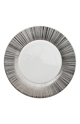 Тарелка сервировочная silva  BERNARDAUD серебряного цвета, арт. 1853/2134 | Фото 1