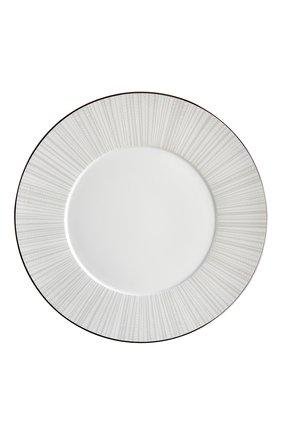 Тарелка обеденная silva  BERNARDAUD серебряного цвета, арт. 1853/21761 | Фото 1
