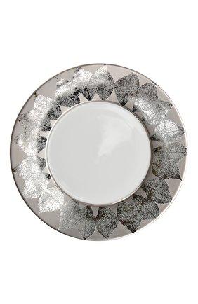 Тарелка салатная platinum silva  BERNARDAUD серебряного цвета, арт. 1853/23131 | Фото 1