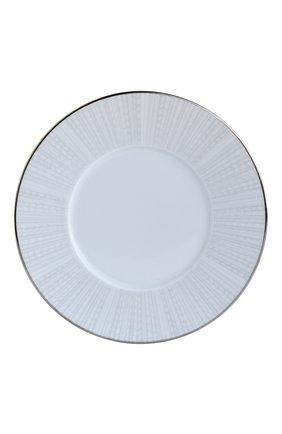 Тарелка для хлеба и масла silva  BERNARDAUD серебряного цвета, арт. 1853/3 | Фото 1 (Ограничения доставки: fragile-2)