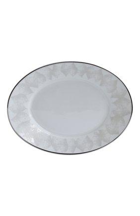 Блюдо для солений silva  BERNARDAUD серебряного цвета, арт. 1853/125 | Фото 1