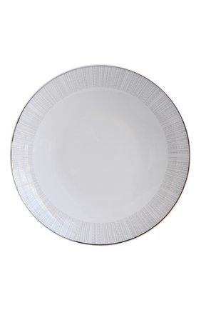 Мужского блюдо круглое глубокое silva  BERNARDAUD серебряного цвета, арт. 1853/21266   Фото 1