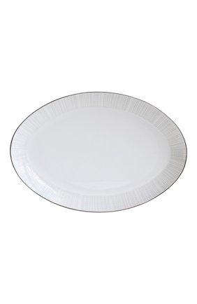 Мужского блюдо овальное silva BERNARDAUD серебряного цвета, арт. 1853/107   Фото 1