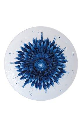 Мужского тарелка обеденная in bloom flower  BERNARDAUD синего цвета, арт. 1768/23130   Фото 1
